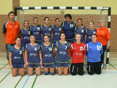 Damenmannschaft beim Turnier in Hainhausen